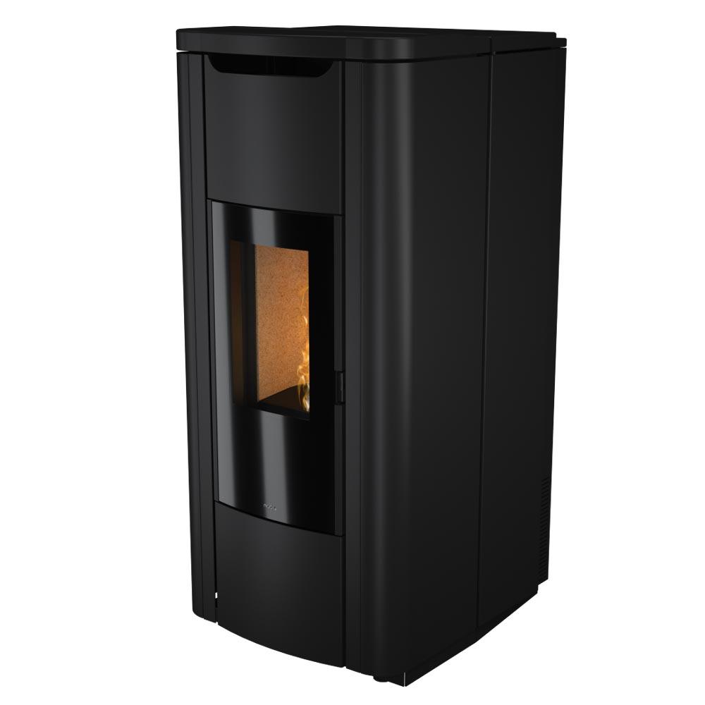 termostufa a pellet nobis mod. h20 shape nero