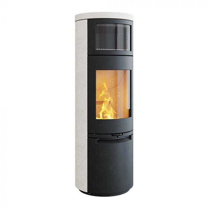 Stufa a legna con forno HETA mod. Scan-Line 900 - 1