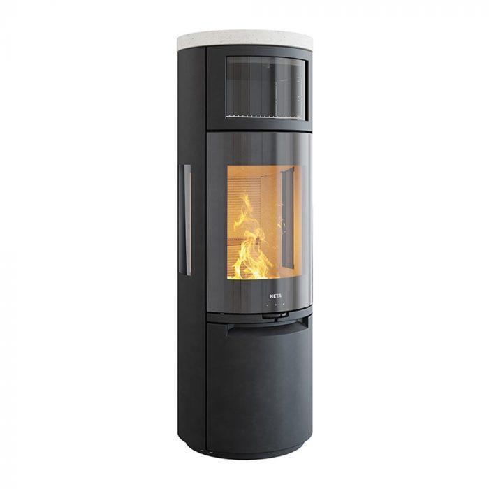 Stufa a legna con forno HETA mod. Scan-Line 900 - 3