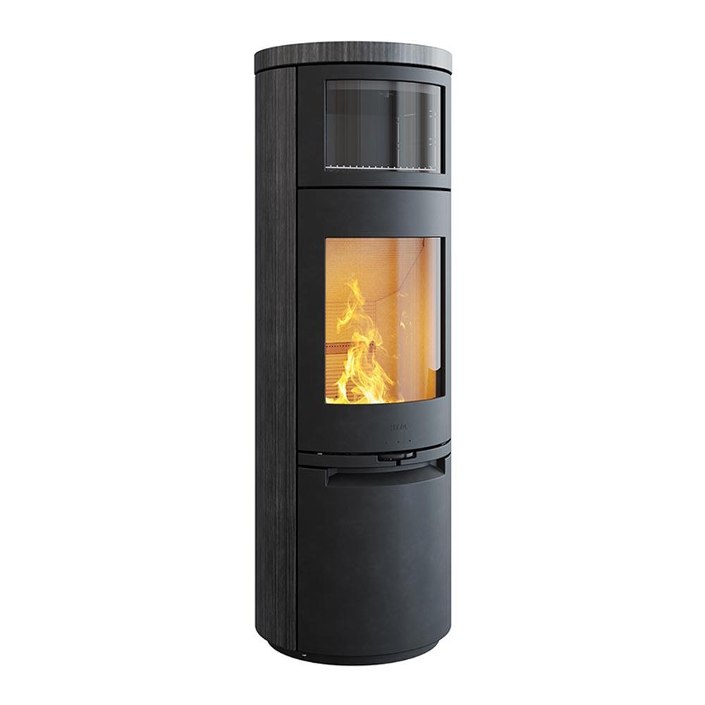 Stufa a legna con forno HETA mod. Scan-Line 900 - 2